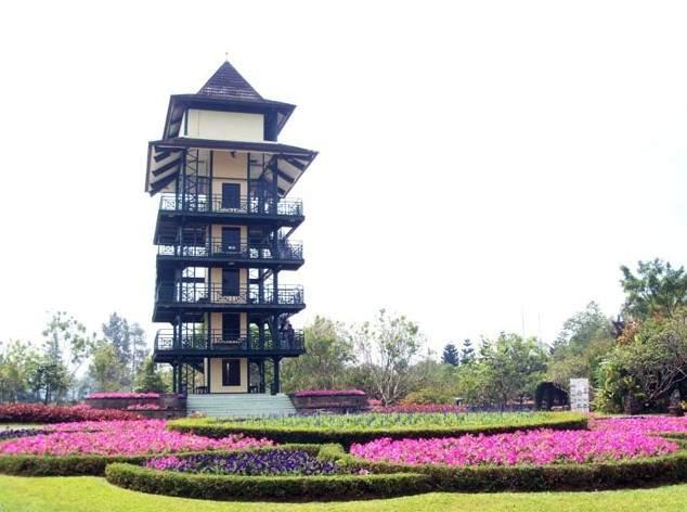 Menara Pandang Taman Bunga Nusantara