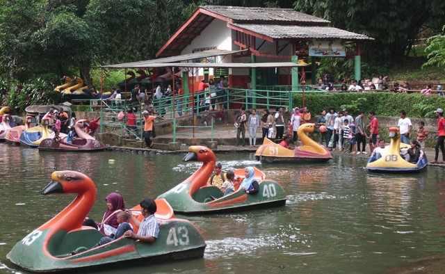 Perahu Angsa ragunan
