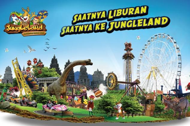 Promo Harga Tiket Masuk Jungleland Agustus 2019