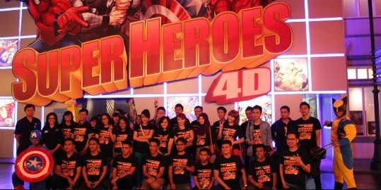Marvel Superheroes 4D