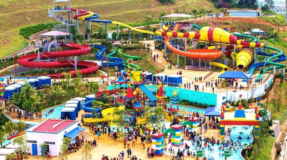 Lego Theme Park