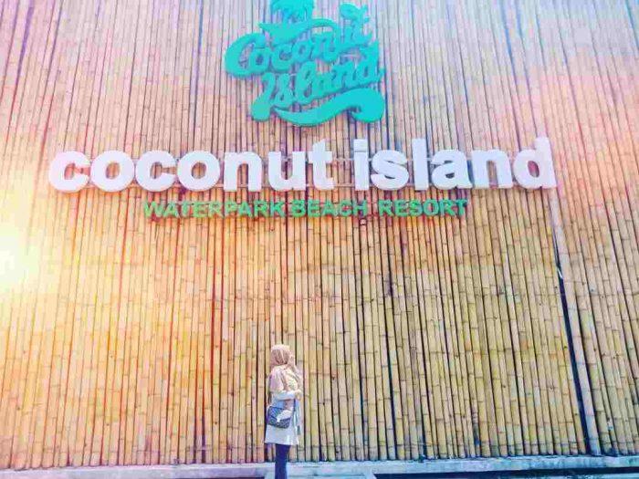 Harga Tiket Masuk Coconut Island Carita